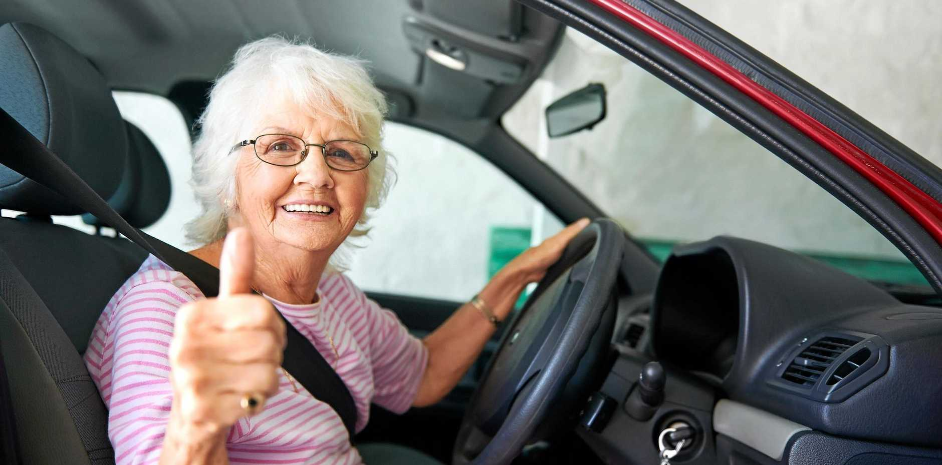 DRIVE SAFLEY: Seniors staying mobile safely.