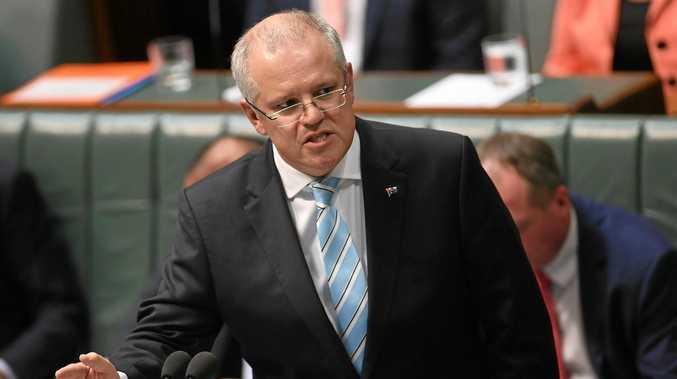 IMPACT: Prime Minister Scott Morrison in his former role as treasurer.