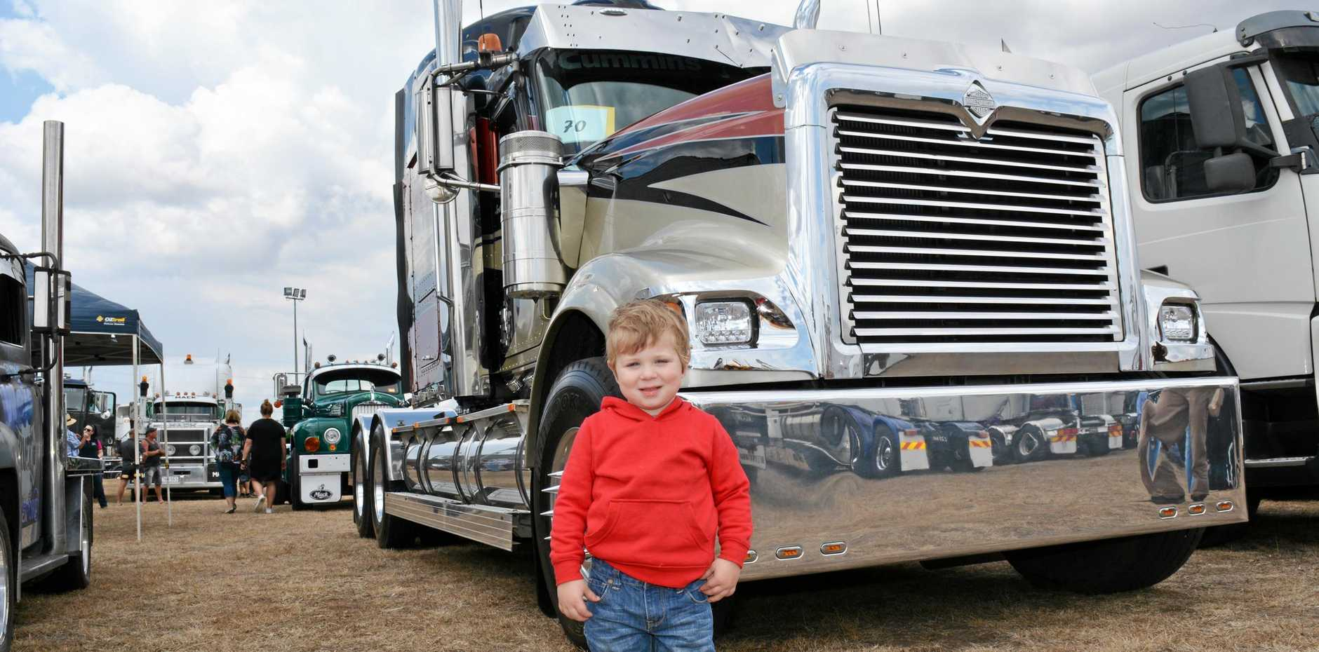 LOWOOD TRUCK SHOW- Mitchell Turner from Ceder grove