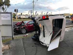 Tweed collision: 'I just saw the van flying towards me'