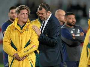 Dwyer absolves Cheika, blames Wallabies' fitness levels