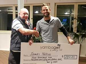 Blistering round takes out rain-affected pro-am