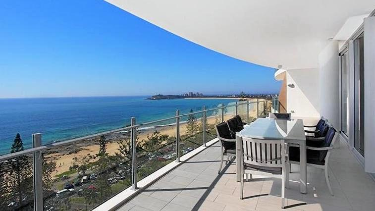 A three bedroom apartment at Mooloolaba sold for a whopping $4.4 million, 10 times the median unit price in the area.