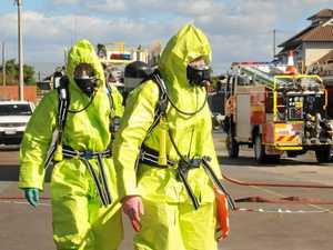 Scientific crews called in to test school acid spill