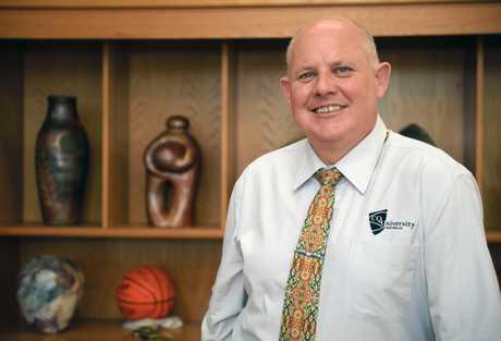 Retiring Vice-Chancellor Professor Scott Bowman