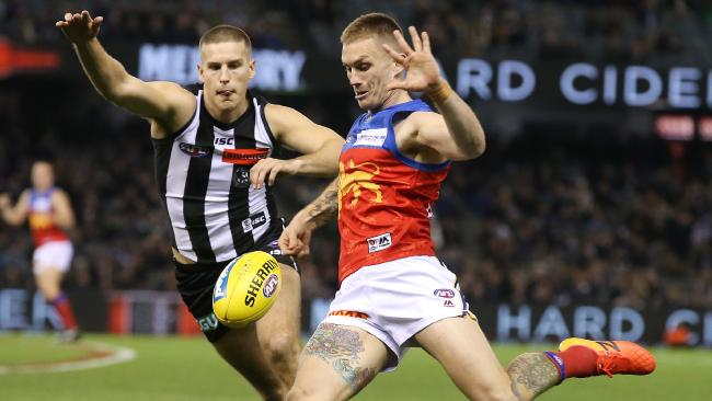 Dayne Beams has been linked to a return to Collingwood. Picture: Michael Klein