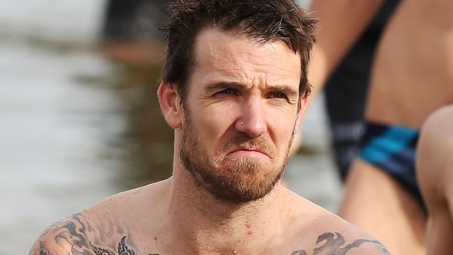 Dane Swan was caught in a nude video storm.