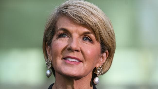 Julie Bishop was all class when she delivered her farewell speech. Picture: Lukas Coch