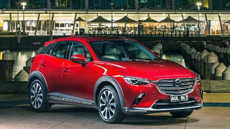 Exterior tweaks on the CX-3 are minimal but Mazda has added features across the range.