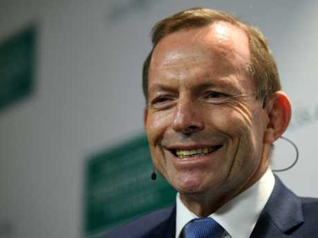 Tony Abbott has enthusiastically accepted Scott Morrison's job offer. Picture: AAP