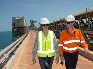 Rio Tinto mines local support
