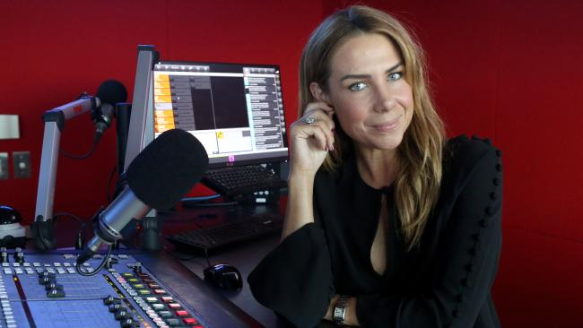 Kate Ritchie of Nova's Kate, Tim & Marty Drive show. Picture: James Croucher