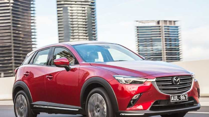 The price is down but the facelifted Mazda CX-3 is upwardly mobile.