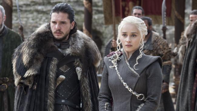 Sansa may not be a fan of the new Stark/Targaryen alliance. Picture: HBO