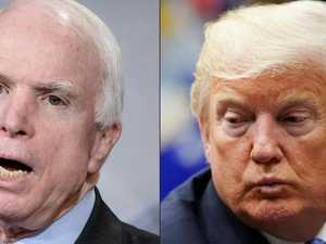 Trump's final, searing dig at McCain