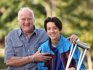 Heroic teenager sacrifices himself to save grandfather