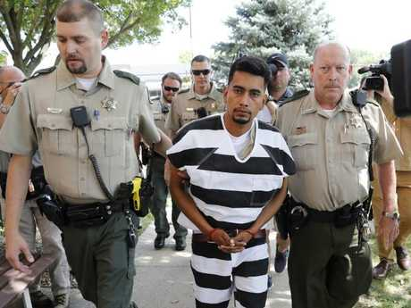 Cristhian Bahena Rivera has been charged with first-degree murder in the death of Mollie Tibbetts. Picture: AP/Charlie Neibergall