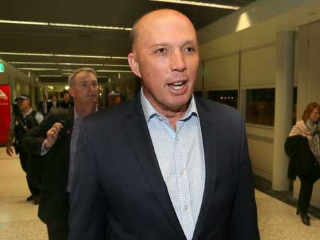 Of all the people to be considered to replace Malcolm Turnbull, Peter Dutton was perhaps the most unlikely. Picture: AAP