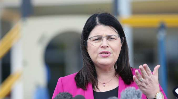 Education Minister Grace Grace says Queensland teachers 'most definitely' deserve a pay rise. Picture: AAP/ Ric Frearson