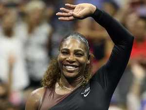 Stunning Serena dominant in first-round demolition job
