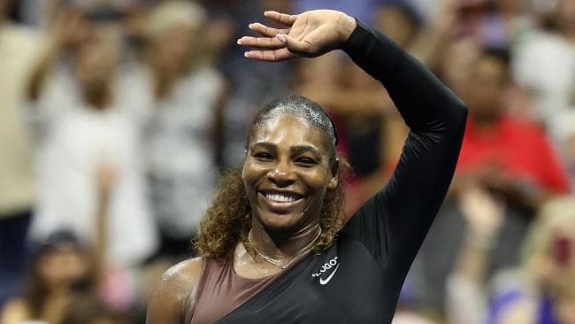 Serena Williams has cruised into US Open second round. Picture: Getty Images
