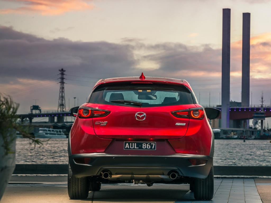 Mazda2 underpinnings push CX-3 cargo and rear passenger space down against some rivals.