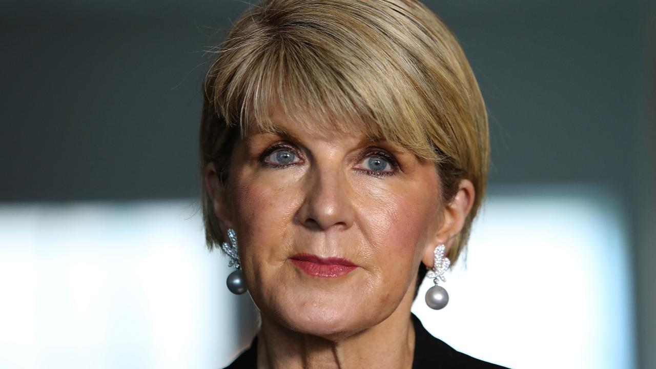 It seems Julie Bishop's resignation hasn't gone down too well in China.