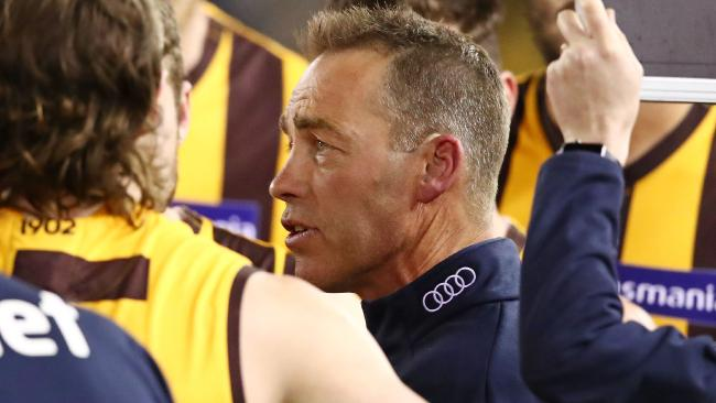 Alastair Clarkson is having another brilliant year with the Hawks. Picture: Getty Images
