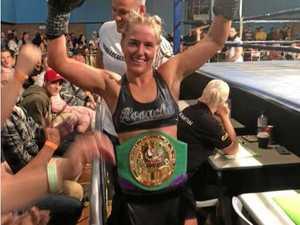 Byard all smiles in winning state title belt