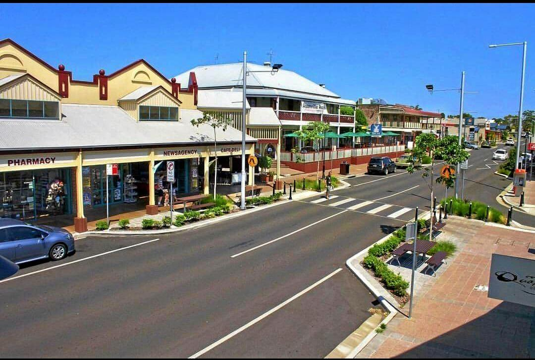 The main street of Alstonville. PHOTO: Richard Lutze
