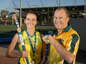 Toowoomba trio in the Masters' medals