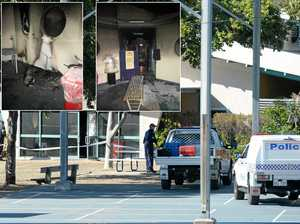 Teens charged with arson after CQ school fire