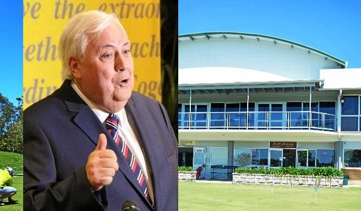 MILLIONAIRE INTEREST: Clive Palmer showed an interest in the Gympie Pines golf course.