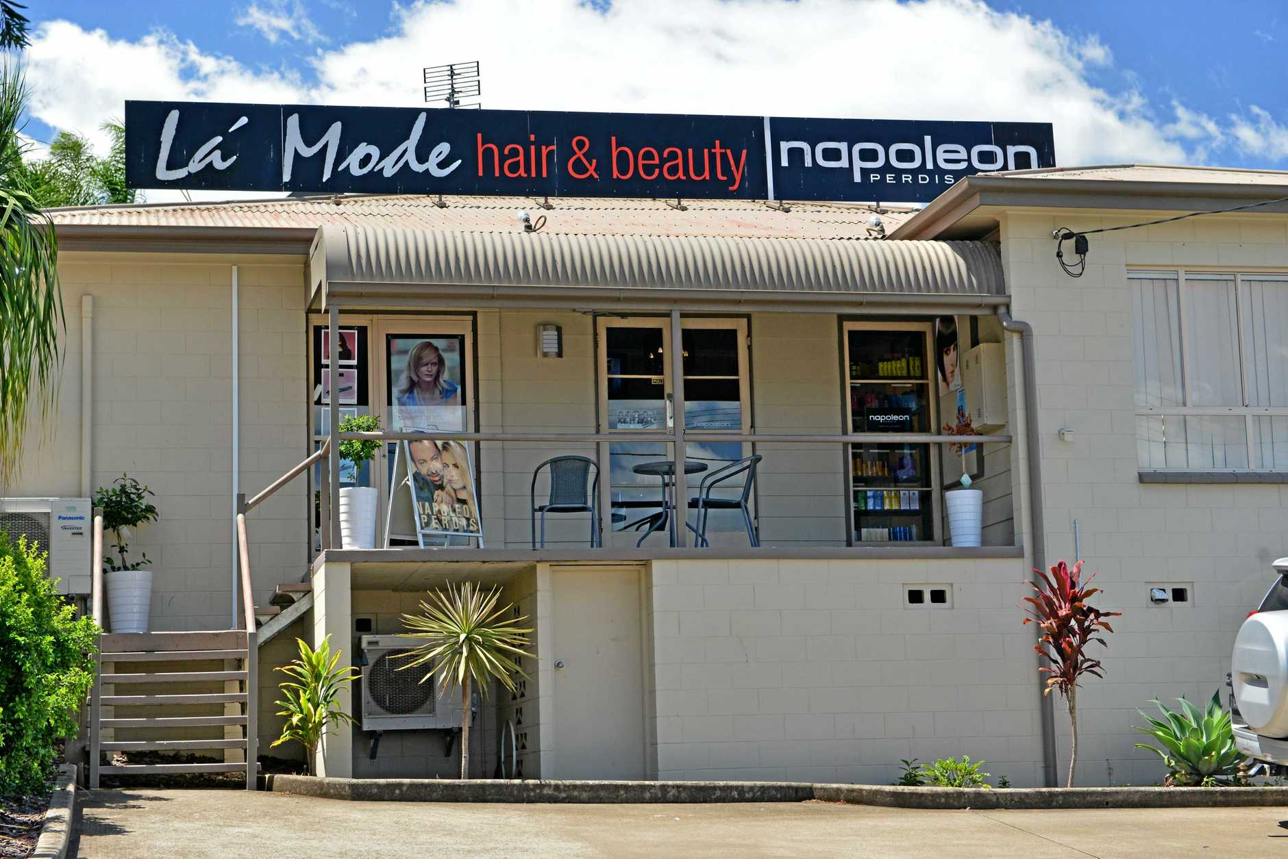La Mode Hair and Beauty, Barter Street, Gympie. Photo Patrick Woods / Gympie Times