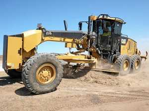 Grader on its way to nine Gympie region roads