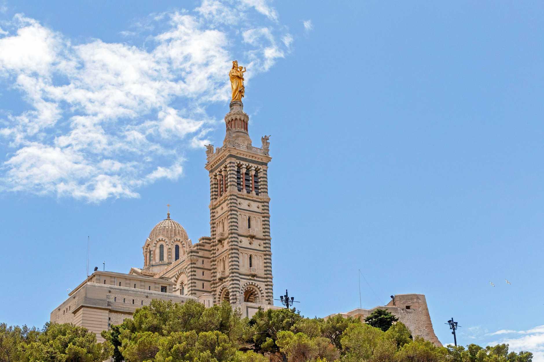 Notre Dame de la Garde in Marseille, France.