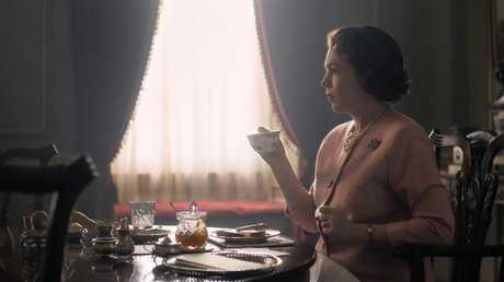 Olivia Coleman stars in The Crown as Queen Elizabeth II. Picture: Netflix