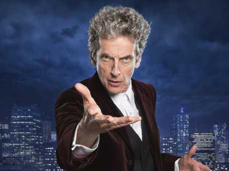 Yvie hates Doctor Who (PETER CAPALDI) — (C) BBC — Photographer: Ray Burmiston