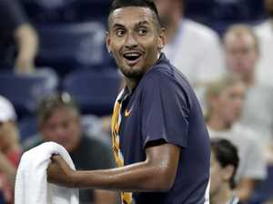 'I'm f***ing done': Kyrgios loses it