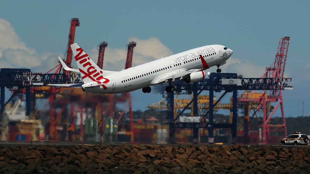 Virgin Australia's domestic business is going strong. Picture: Brendon Thorne/Bloomberg