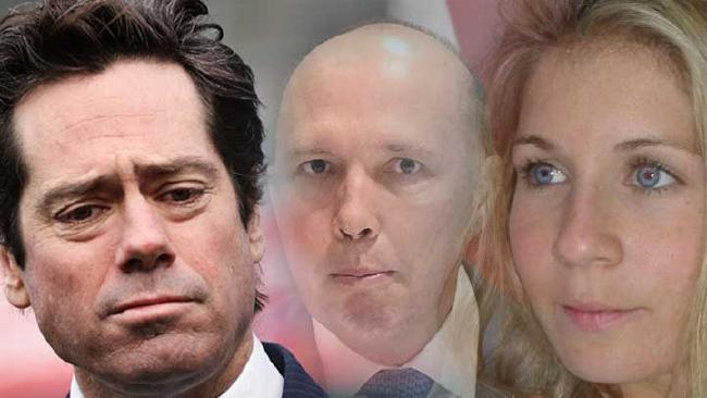 AFL boss Gillon McLachlan lobbied Peter Dutton to intervene in a visa case involving French au pair Alexandra Deuwel.