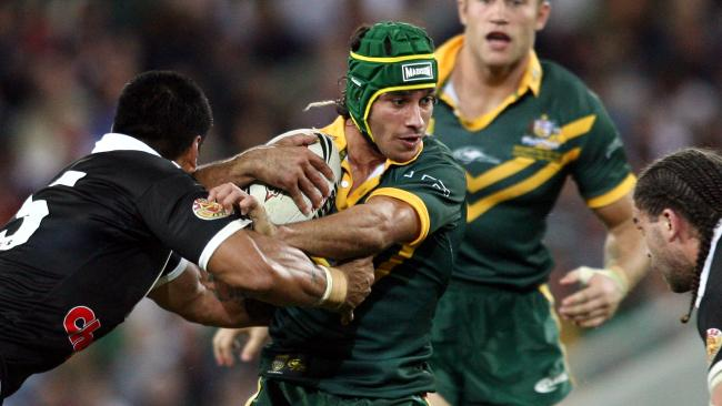 The 2006 Tri Nations was Thurston's first big moment in green and gold. Adam Head.