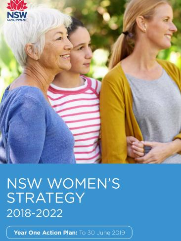 "The NSW Women's Strategy is aimed at ""empowering"" women and boosting gender equality in NSW. Picture: Supplied"