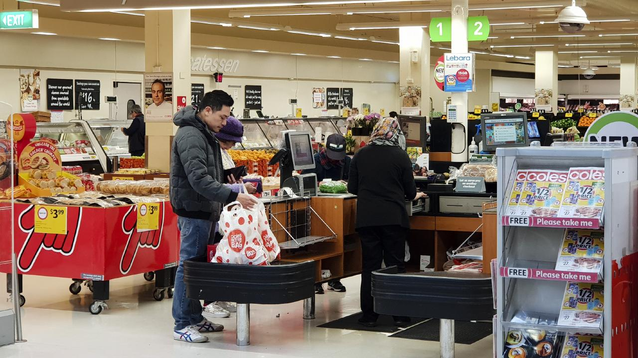 Coles has come under intense scrutiny by environmentalists for continuing to hand out free plastic bags. Picture: Supplied