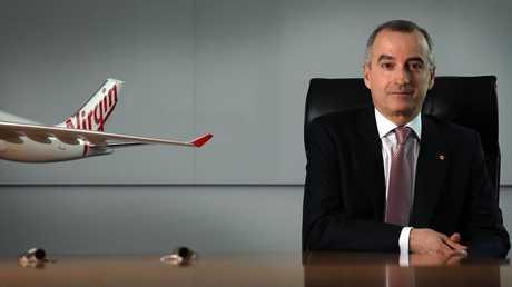 Virgin CEO John Borghetti. Picture: James Croucher