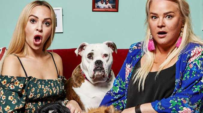Angie and Yvie from Gogglebox for Hit. TV only. Not to run before August 29. Photo credit: Tarsha Hosking / Foxtel.