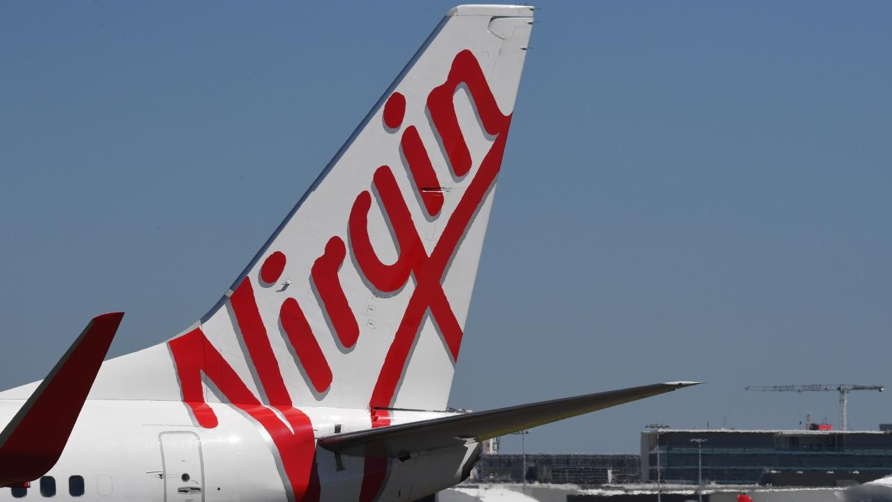 Virgin Australia has posted a full-year loss of $681 million after impairments and tax adjustments. Picture: AAP/Peter Rae