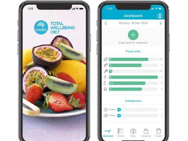 The CSIRO Total Wellbeing Diet is run online. There's also an app for your phone.