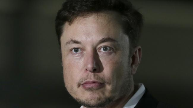 Mr Musk backflipped on a decision to make Tesla a private company. Picture: AP Photo/Kiichiro Sato.