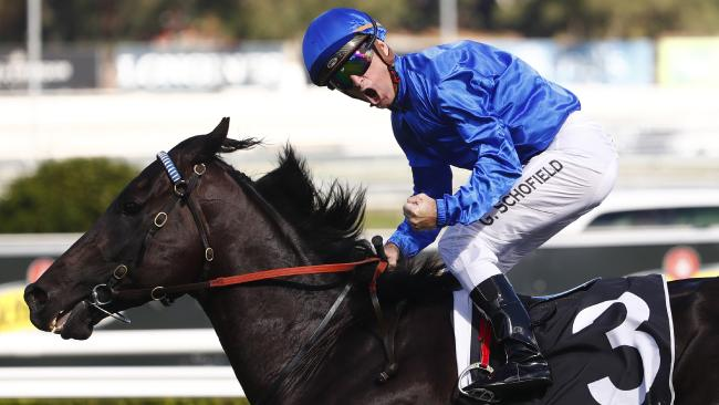 Glyn Schofield will stick with Kementari in the Memsie Stakes. Picture: AAP